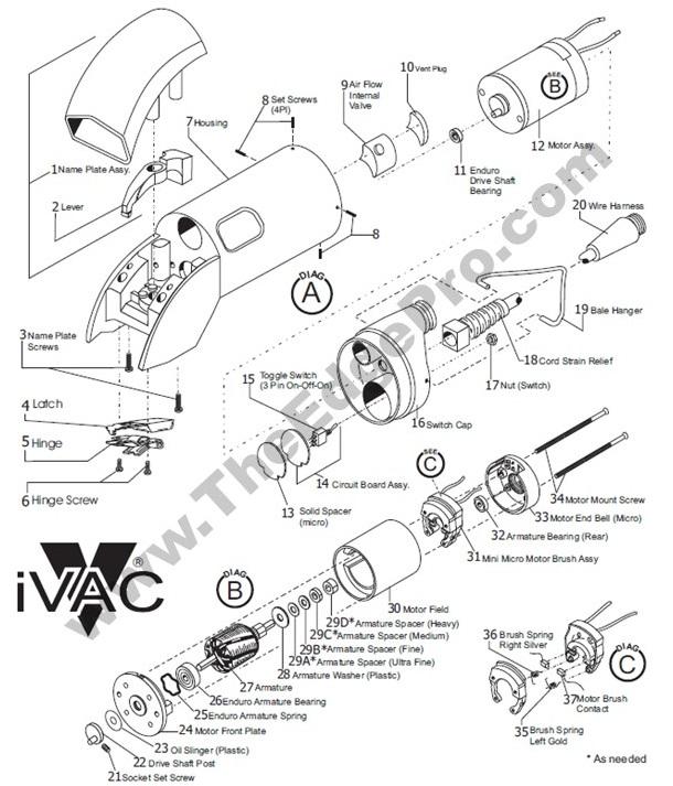 12 Volt Drive Motors