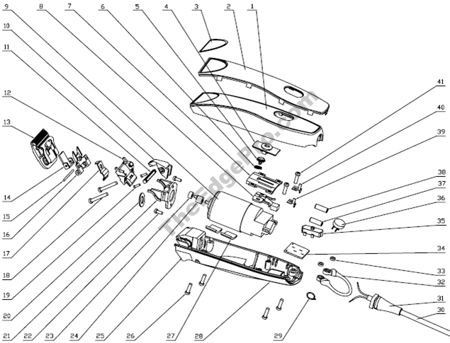 Oster Razor Parts Diagram