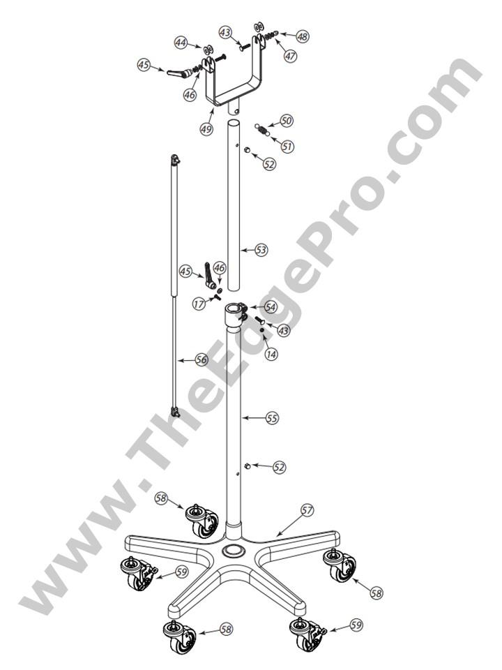 9000 II Stand Dryer | The Edge Pro K Ii Dryer Wiring Diagram on