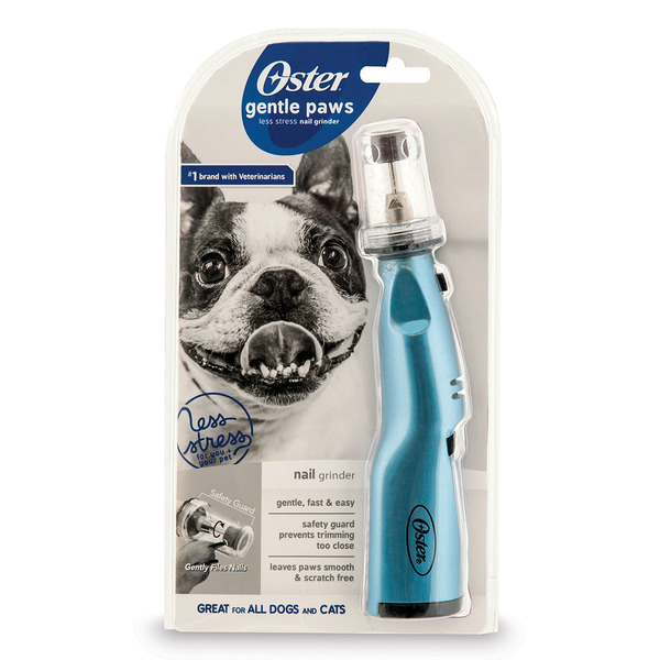 Oster Gentle Paws Nail Grinder- Blue