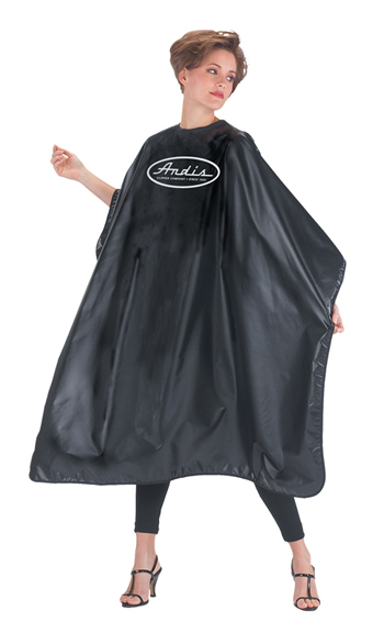 BLACK CAPE WITH LOGO