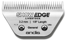 "ANDIS MEDIUM SHOWEDGE 1/8"" BLADE"