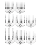 More about the '8-Piece Chrome Plated Magnetic Comb Set' product