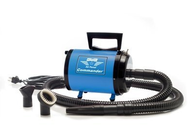 Air Force Commander Var Speed Pet Dryer Aftd-1Vk 4.0 Hp Blue