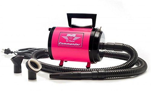 Air Force Commander 2 Speed Pet Dryer Aftd-1K 1.7 Hp Pink