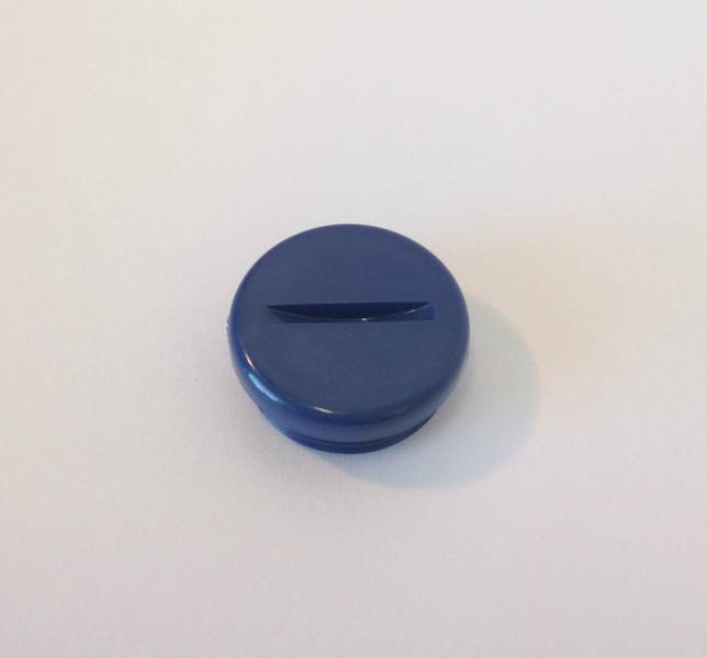 Oster Brush Cap - Medium Blue
