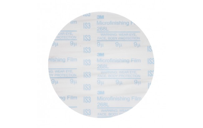 "9 Micron 6"" Hook and Loop Disc - Single Disc"