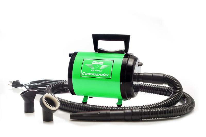 Air Force Commander Var Speed Pet Dryer Aftd-1Vk 4.0 Hp Green