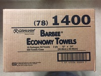 Picture of Barbee Economy Towels, Case of 10 Packs box